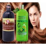 Duo Poderoso Shampoo Yeguada La Reserva Anticaída, Crecimiento Y Shampoo De Bergamota Organico Anticaspa Y Crecimiento
