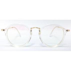 Oculos Redondo Armacao Branca - Óculos em Rio de Janeiro no Mercado ... ce84ccb3bb