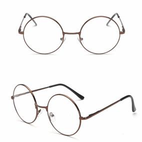 75de66f0fa1ba Oculos Redondo Retro Bronze - Óculos no Mercado Livre Brasil