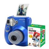 d580d67bd5bd5 Câmera Polaroid Instantânea Pic 300 Azul C  Filme 30 Poses