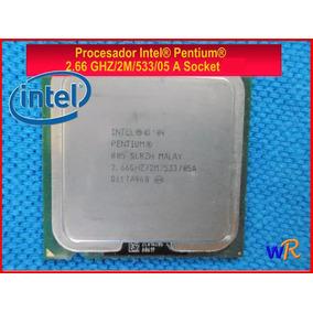 Procesador Intel Pentium 2.66 Ghz/2m/533/05 A Socket