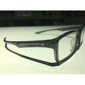 Óculos Para Grau Oakley Plank 2.0 Pol Grey Smoke   Chrome 6af9462df0