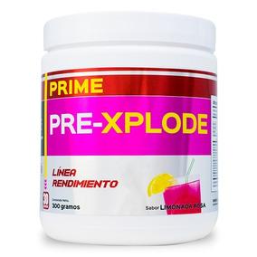 Pre-entreno Primetech 300 Gr Precursor Testo Limonada Rosa