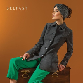 Casaco De Lã Belfast Casacos Femininos - Casacos no Mercado Livre Brasil 3cf3988062bdd