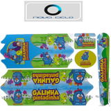 Cartela De Adesivos Bicicleta Infantil Galinha Pintadinha