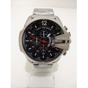 ec99b158d19 Relógio Megir 3008g Prata Fundo Preto - Relógios De Pulso no Mercado ...