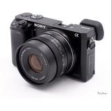 50mm F1.8 Para Sony   Lente 7artisans   Manual.
