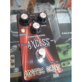 Pedal Axcess By Giannini Mystic Drive Md-102 Overdrive Usado
