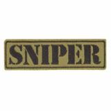 Bordado Termocolante Sniper Verde