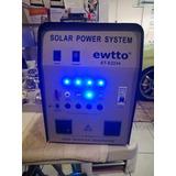 Panel Solar Oferta Kit +batería+inversor+regulador