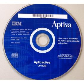 Cd Ibm Aptiva - Aplicativos -1998