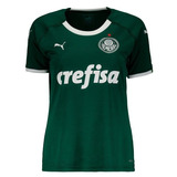 Camisa Puma Palmeiras 1 Feminina 2019 755018