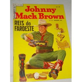 Reis Do Faroeste Nº 19 De 1954 Johnny Mack Brown Ebal Banca