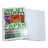 100 Folhas Papel Fotografico Matte Fosco A4 108 Gramas 1pct