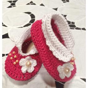 Zapatos Y Sandalias Tejidas Para Bebes De 0 A 12 Meses