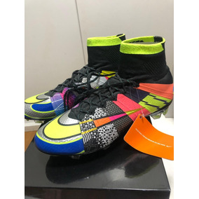 a19d715506225 Chuteira Nike Mercurial Laranja N - Chuteiras no Mercado Livre Brasil