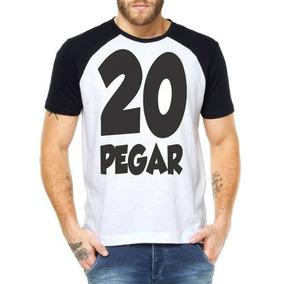 Camisetas Vinte Pegar Carnaval Camisas Engraçadas Promoção 4449ec70530