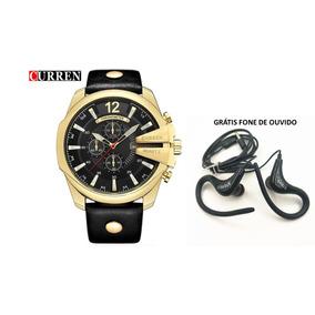 b077209ad99 Relogio Curren Super Preço - Relógios De Pulso no Mercado Livre Brasil
