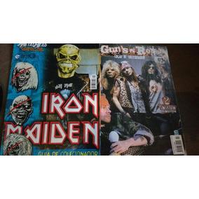 Revistas Iron Maiden E Guns N