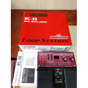 Pedal Boss Rc-30 Dual Track Looper Loop Station Usado