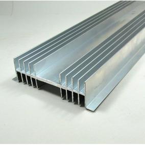 Dissipador Calor Aluminio 12cm Largura C/ 1 Metro