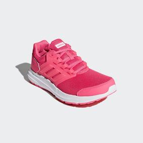 Tenis De Mujer adidas Galaxy 4 W Rosa Original 2617169