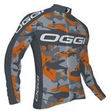 Camisa Ciclismo Bike Oggi Strada Camo Camuflada Manga Longa 36dfc8874c7d9