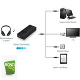 Transmisor Bluetooth De Audio Tv, Audifonos, Pc, Mp3/mp4 Tx8