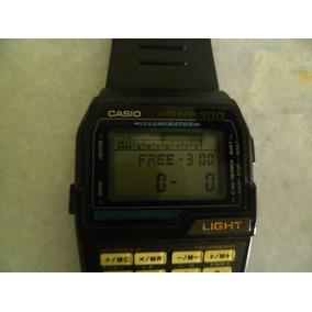 d298590c0dc Relógio Casio Databank Dbc 310 Antigo Zerado 300 Memórias