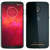 Smartphone Motorola Moto Z3 Play,dual, Índigo,tela 6.1, 64gb