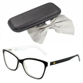Armacao Oculos Feminino Grau Acetato - Óculos Branco no Mercado ... b2fc901938