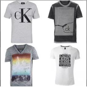 Kit C  10 Unidades De Camisetas Camisas Masculinas Atacado 3e4f12d242519