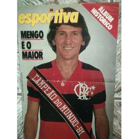 *sll* Revista Manchete Esportiva Flamengo Campeão Mundo 81
