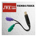 Cable Adaptador Usb A Ps2 Jwk