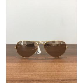 36257e19efeaf Terracota De Sol Ray Ban Aviator - Óculos no Mercado Livre Brasil