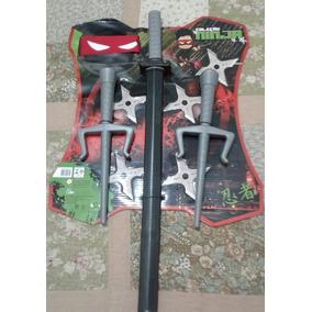 Oferta Kit Espada Coleção Ninja Infantil