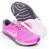 Tenis Nike Tri Fusion Run Msl Dama Rosa