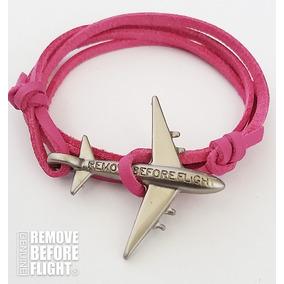 Brazalete Fly Fiucsa&plateado - Remove Before Flight®