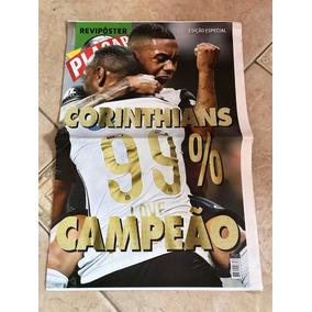 Pôster Revista Placar Especial Corinthians Campeão Ano 2015