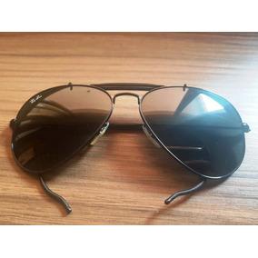 Óculos De Sol Ray Ban Caçador 3030 Preto Lente G15 - Óculos no ... df11198935