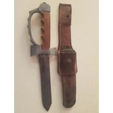 Cuchillo Bayoneta Con Manopla