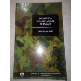La Permanencia De Las Relaciones De Trabajo Carlos Reynoso C 8dc908656e8ca