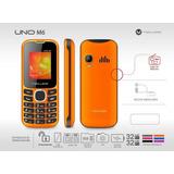 Celular Maxwest Uno M6 Naranja Quad Band Camara Htg