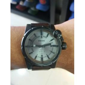 Relógio Diesel Dz4238 Masculino Marrom Original