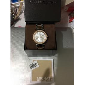 Hermoso Reloj Michael Kors Combinado, Súper Elegante!!
