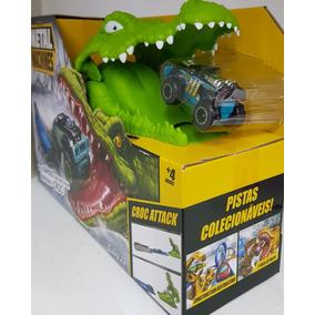 Pista Metal Machines Croc Attack Crocodilo Candide