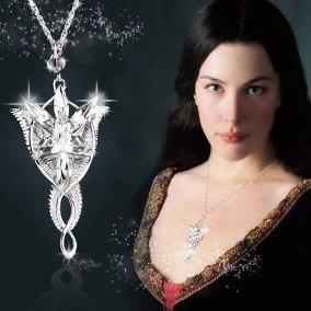 Señor De Los Anillos Dije Collar Arwen Evenstar Aragorn
