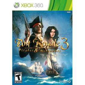 Port Royale 3: Pirates & And Merchants - Xbox 360 - Novo