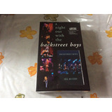 Cd Backstret Boys Box Set A Night Out With The Vhs+cd.......