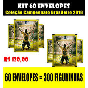Kit 60 Envelopes Campeonato Brasileiro 2018